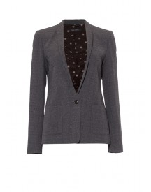 Marc O'Polo Wollen blazer in grijs