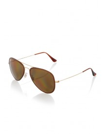 Ray-Ban Aviator zonnebril RB3513M mat goud