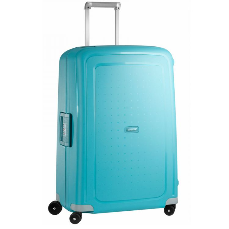 PRODUCT_IMAGE Samsonite S'Cure Spinner 75 Aqua Blue