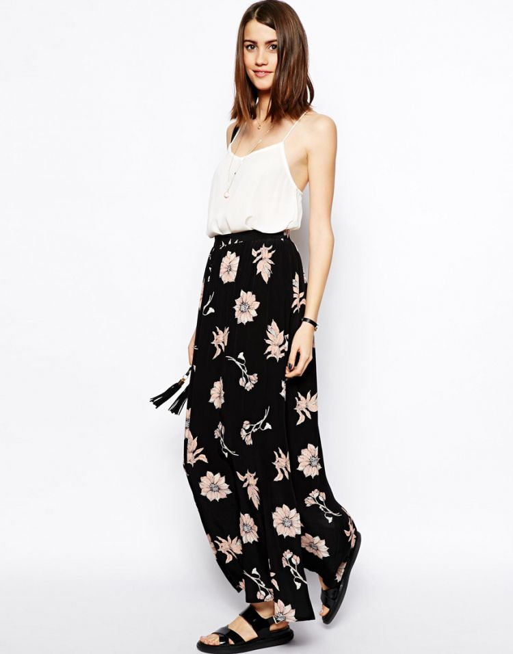 PRODUCT_IMAGE ASOS Maxi Skirt In Floral Print