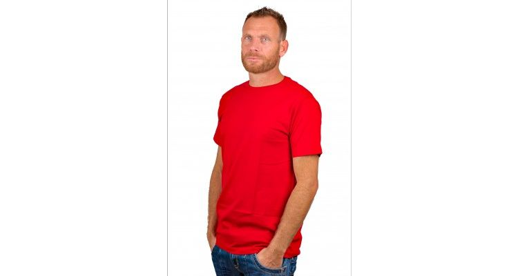 PRODUCT_IMAGE Alan Red T-Shirt Derby Red