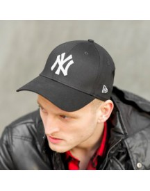 Tioga NY White on Black Fullcap by NEW ERA